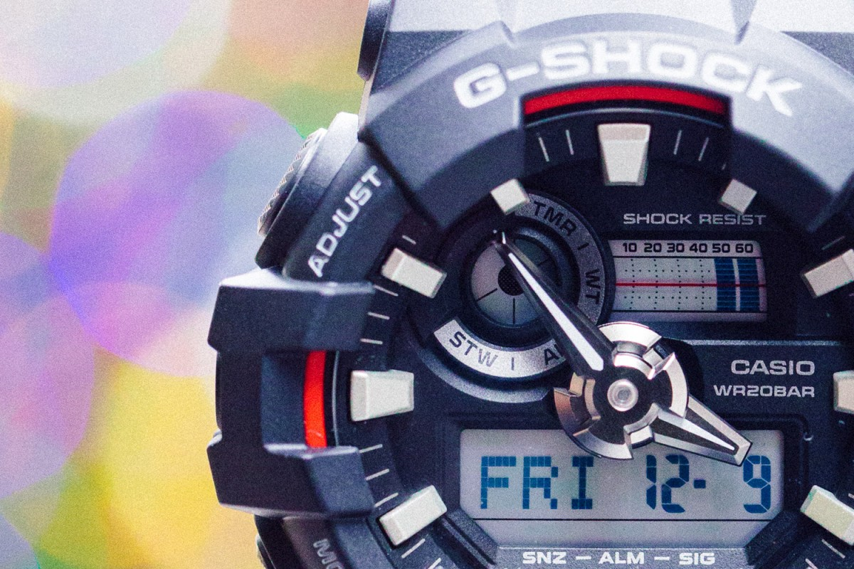 [Live Photos] G-Shock GA-700 Is a perfect gift on Holidays