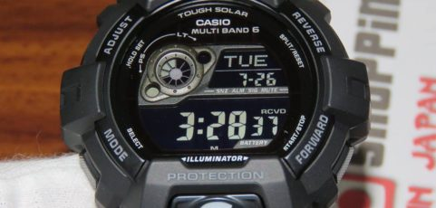 [Live Photos] G-Shock GW-8900A-1 with Atomic Radio Multiband 6