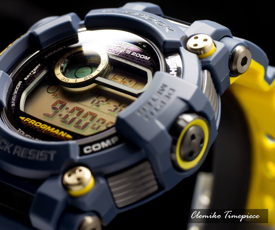 [Live Photos] G-Shock GWF-D1000NV-2 Navy Blue Frogman