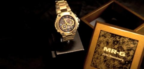 [Video] G-Shock MRG-G1000HG-9A and MUJAKU collaboration exclusive conference