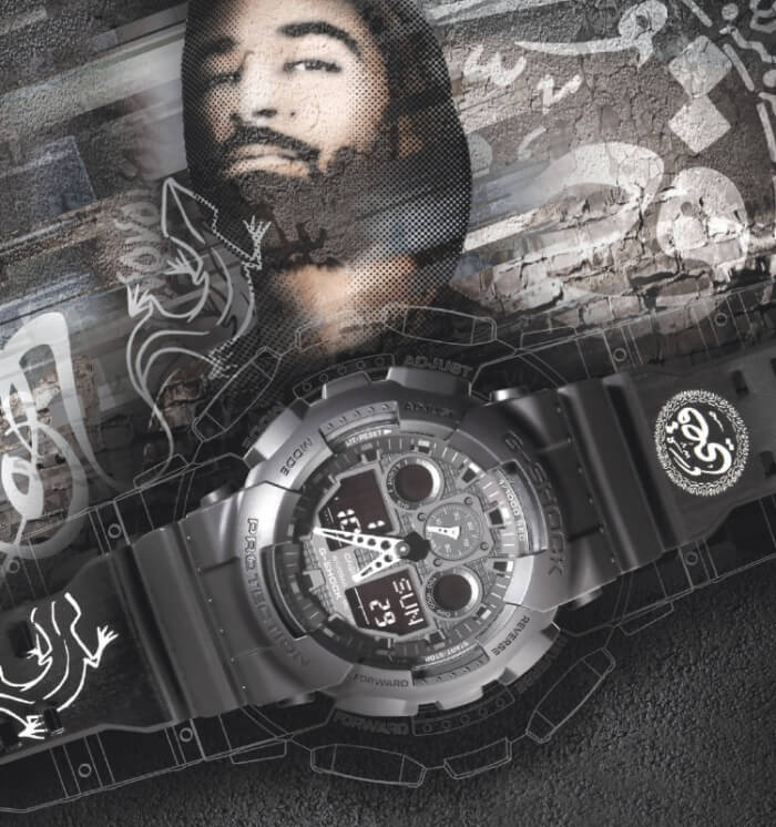 [Limited Series] GA-100 — G-Shock and Qusai Collaboration