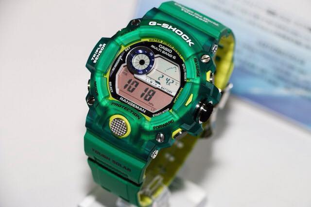 [Limited Series] GW-9401, GWX-8902, BGR-3005 — G-Shock Love The Sea And The Earth 2015