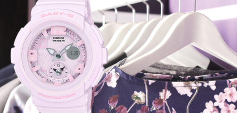 [Live Photos] 13 Tips For Organizing Your Closet with Baby-G BGA-190BC-4B