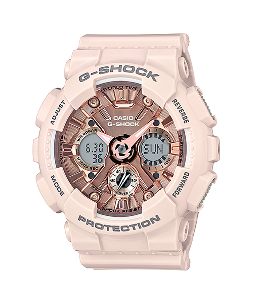 How to set alarm on G-Shock GMA-S120 / Casio 5518