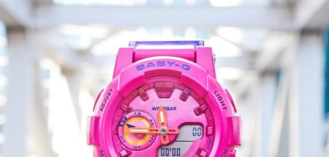 [Live Photos] Baby-G BGA-185FS-4A — one of the most popular model