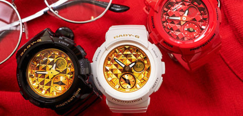 [Live Photos] Baby-G BGA-195M Studded Dial Series