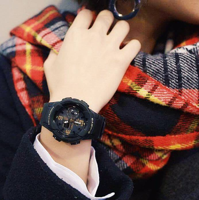 [Live Photos] Baby-G BGA-230-1B — simple and can go with any kind of your clothing