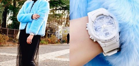 [Live Photos] Baby-G BGA-2300-7B can go with the latest mode – take a trend