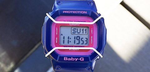 [Live Photos] Baby-G BGD-501FS-2 — cheerful color combination will illuminate your look