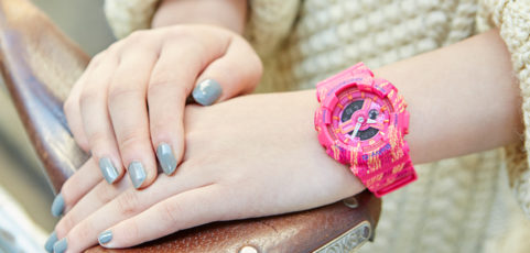 [Live Photos] BEAUTY UP with BABY-G Vol.12 — BA-110TX-4A