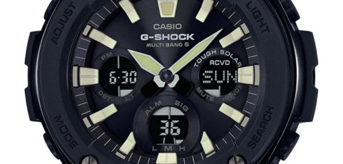 [Live Photos] G-Shock GST-W130L and GST-W120L with leather band