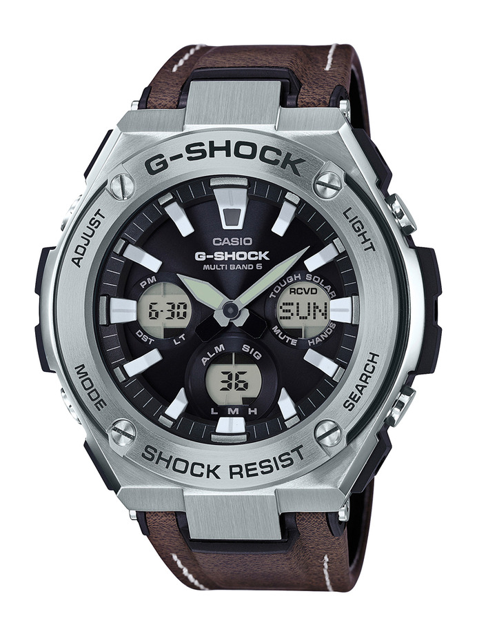 How to set time on G-Shock GST-W120 / Casio 5515