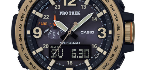 [Live Photos] ProTrek PRG-600YL-5 with brown antique-style leather band