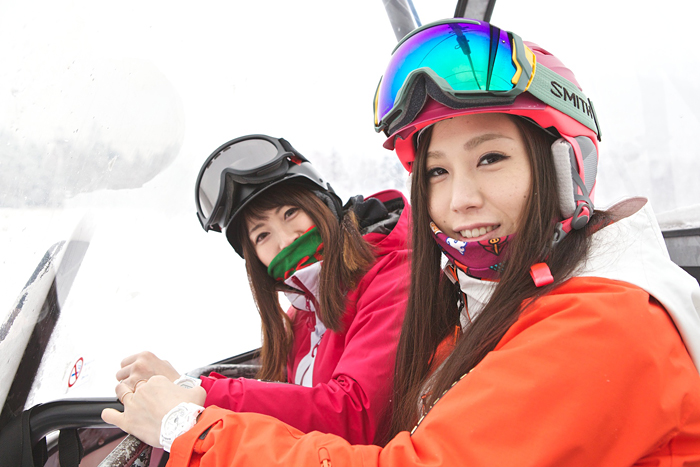 [Live Photos] Baby-G Beautiful skier Report — Part 2