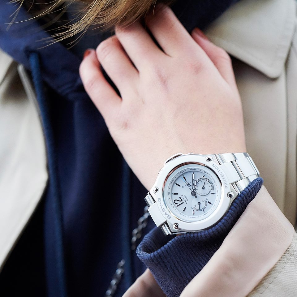 [Live Photos] Baby-G BGA-1400CA-7B1 — can make your style active while in business