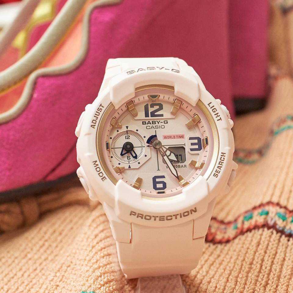 [Live Photos] Baby-G BGA-230SC-4B — is perfect on Bohemian style for this season's trend