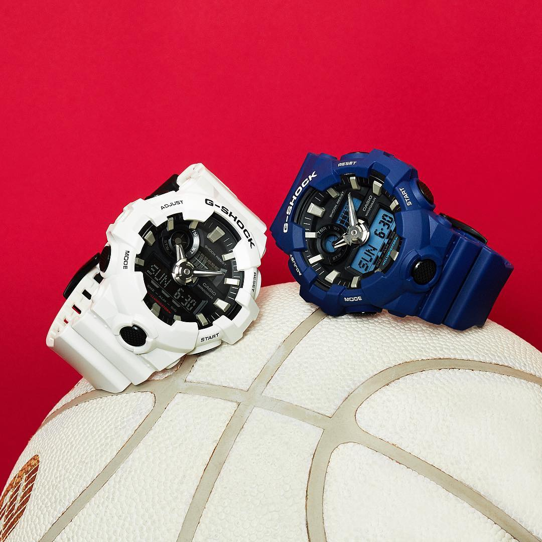 [Live Photos] G-Shock GA-700-7A and GA-700-2A — the new colors
