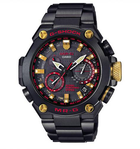 [Live Photos] G-Shock MRG-G1000B-1A4 combined with gold and red pieces