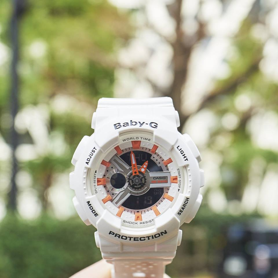 [Live Photos] Baby-G BA-110PP-7A2 — works perfect for your activity on a warm day