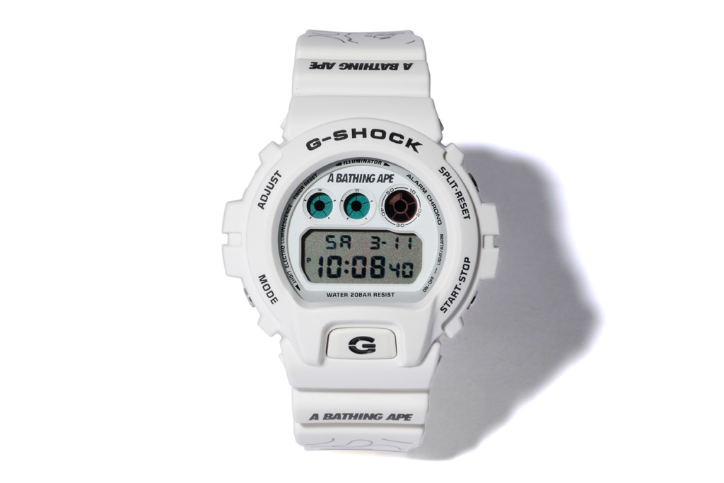 [Live Photos] BAPE Teams With G-Shock for White DW-6900