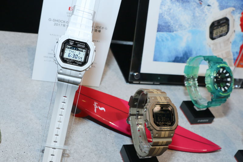 [Live Photos] G-Shock GWX-5600WA-7 and GWX-5600WB-5 from G-Lide