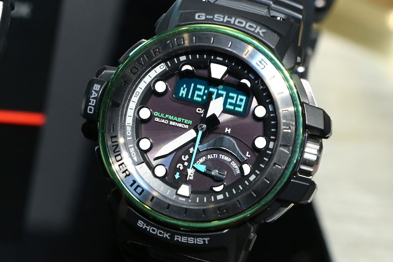 [Live Photos] G-Shock Master in MARINE BLUE Frogman GWF-D1000MB-3 and Gulfmasters