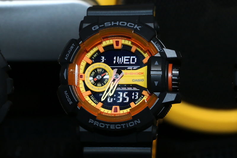 [Live Photos] G-Shock Sporty Black and Yellow classic series