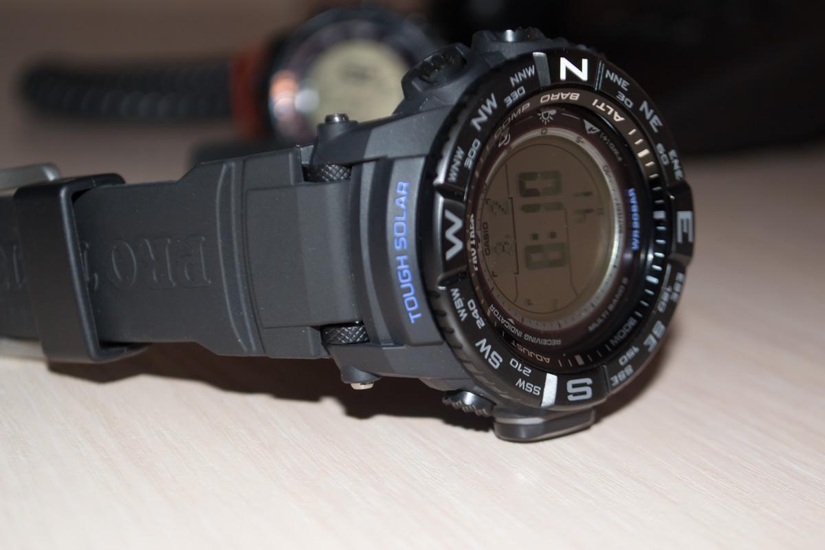 [Live Photos] ProTrek PRW-3510Y-1 — major tourists with a distinct dial