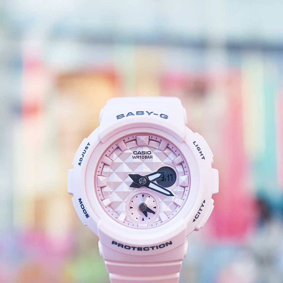 [Live Photos] Baby-G BGA-190BE-4A — both elements of street style and cuteness