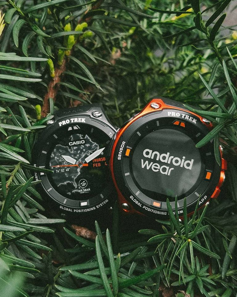 [Live Photos] Casio WSD-F20 — smart outdoor watch with Android