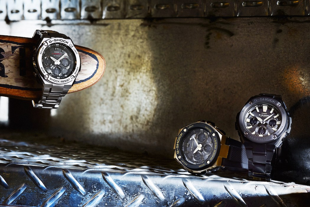 G Shock Gst S110 Gst S100 And Gst S130 Lookbook