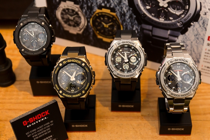 [Live Photos] G-Shock G-Steel Product Line at a small media meal in Taiwan