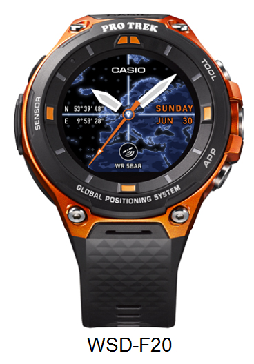 [Official] ProTrek WSD-F20 Smart Outdoor Watch Announces Global Launch