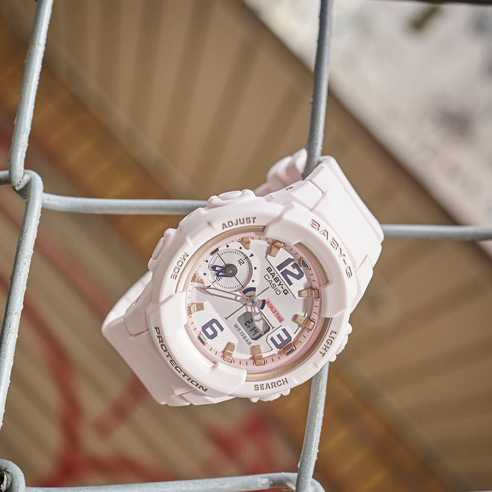 [Live Photos] Baby-G BGA-230SC-4B for cool girls who love mannish style