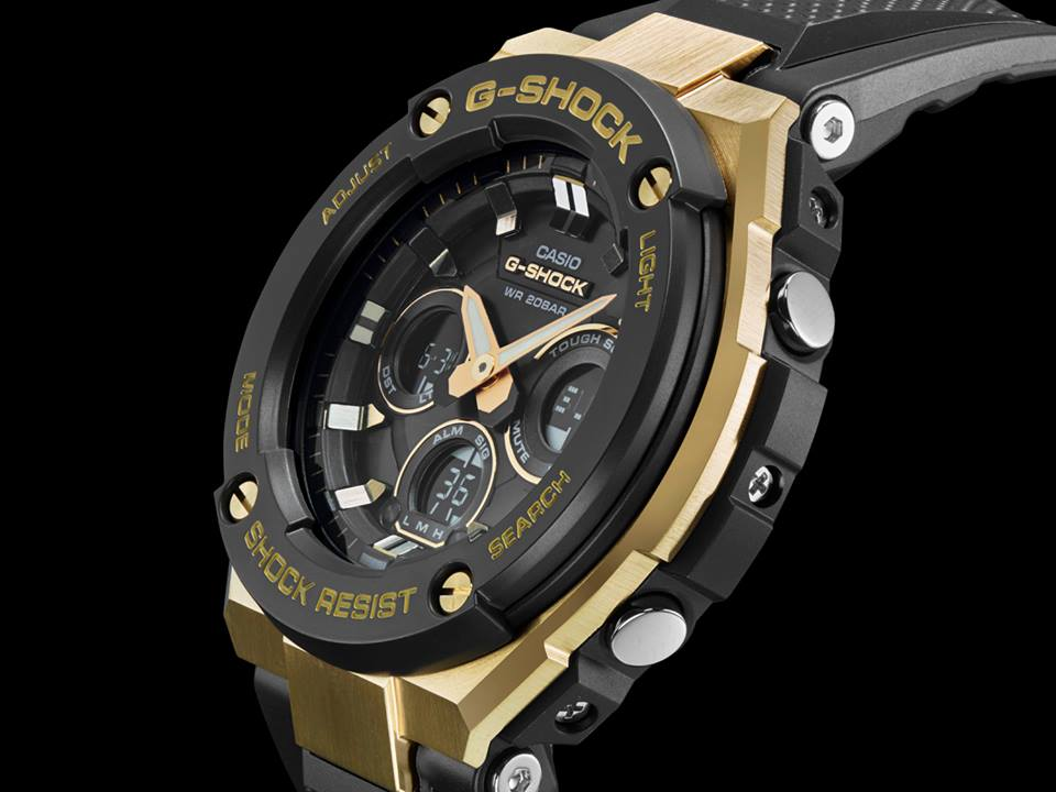 [Promo] G-Shock GST-S300G-1A9 with layer guard structure