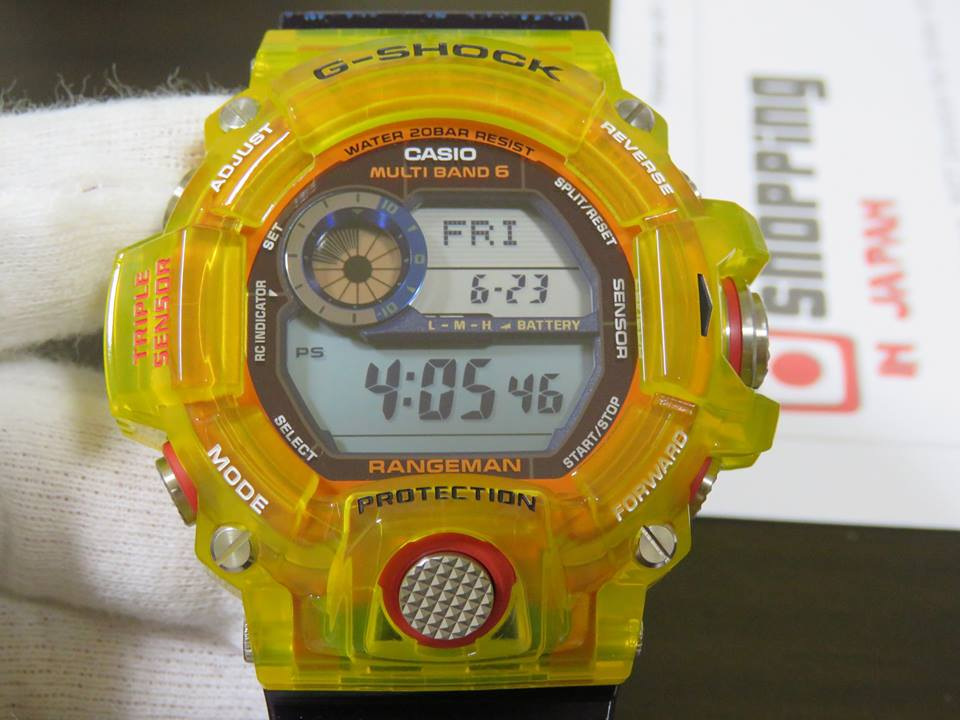 [Live Photos] G-Shock Love The Sea And The Earth GW-9403KJ-9 with Jelly Yellow Bezel