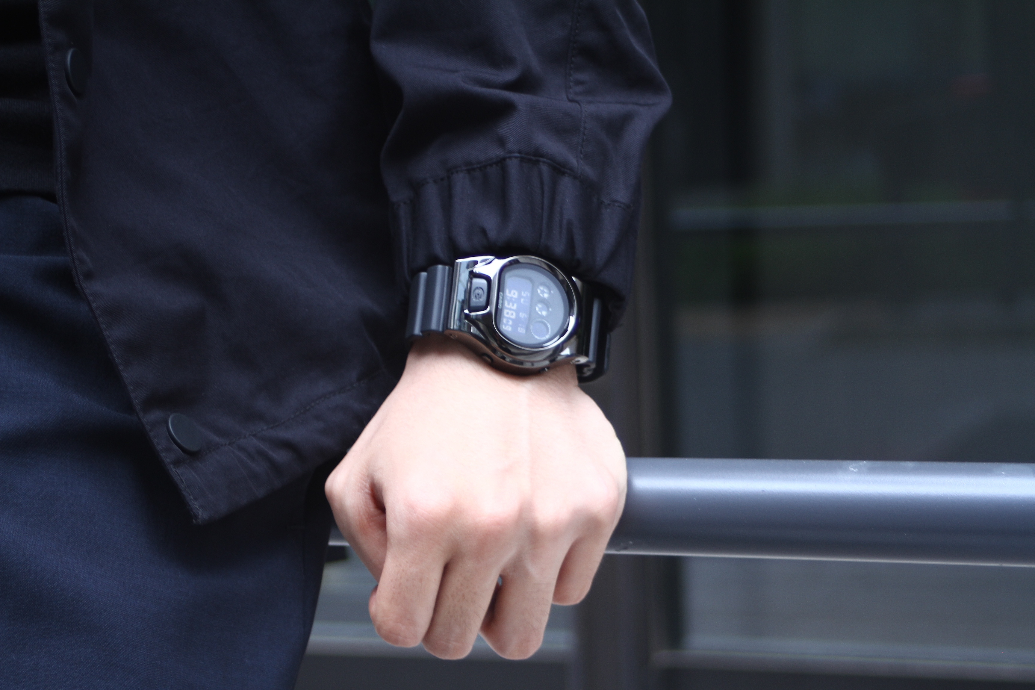 [Live Photos] G-Shock DW-6900 x DAMUE Custom Black and Silver Editions