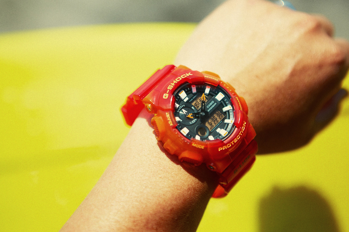 [Live Photos] G-Shock G-Lide GAX-100MSA-4A in Action