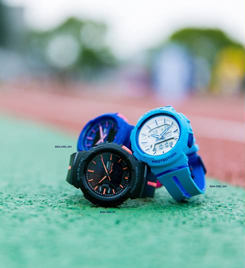 [Live Photos] Let's run with BABY-G BGA-240L