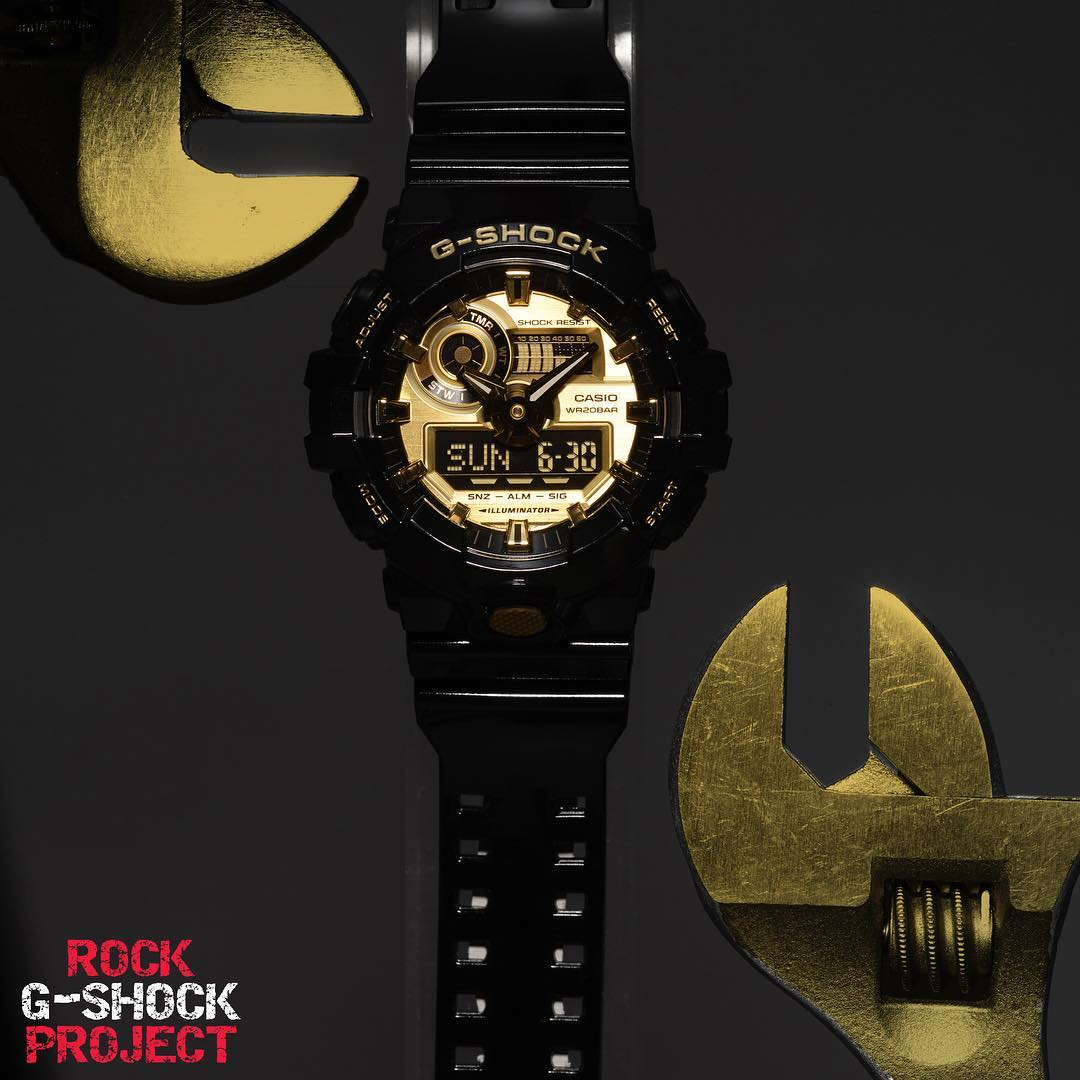 [Live Photos] ROCK G-SHOCK PROJECT  09 — GA-710GB-1A