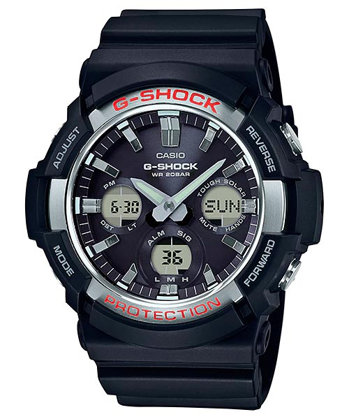 How to set alarm on G-Shock GAS-100 / Casio 5445