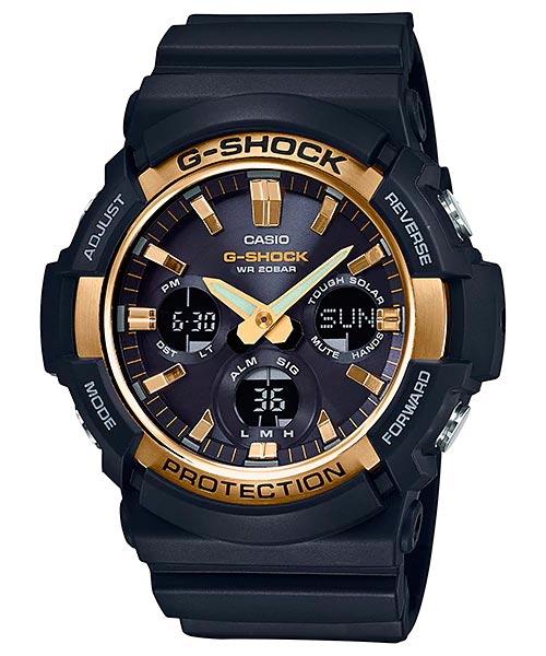 How to set time on G-Shock GAS-100 / Casio 5445