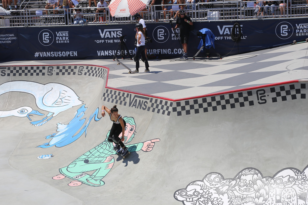 [Live Photos] G-Shock Skate For The 2017 Vans Us Open