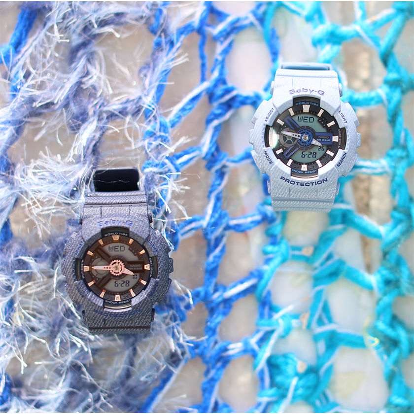 [Live Photos] Baby-G BA-110DE-2A1 and BA-110DE-2A2 in L.A. Diary