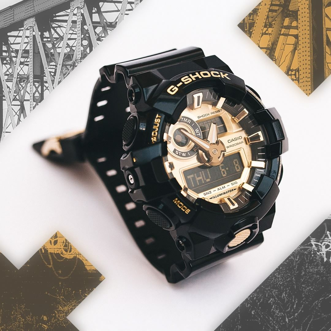 G Shock GA 710GB No Comply Limited Edition
