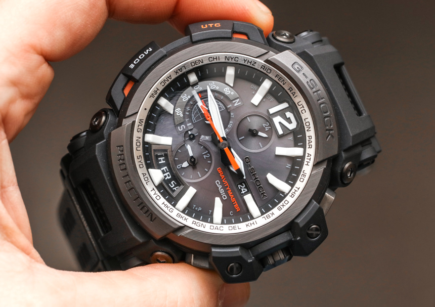 [Live Photos] G-Shock Gravitymaster GPW-2000 GPS Bluetooth Close Look