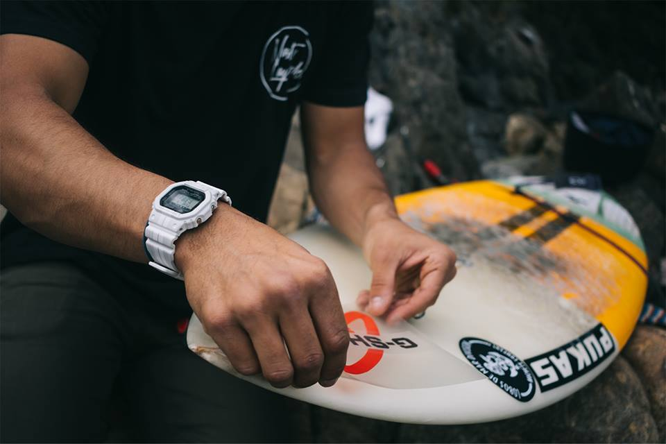 [Live Photos] G-Shock GWX-5600WA-7 and G-lide Surfing