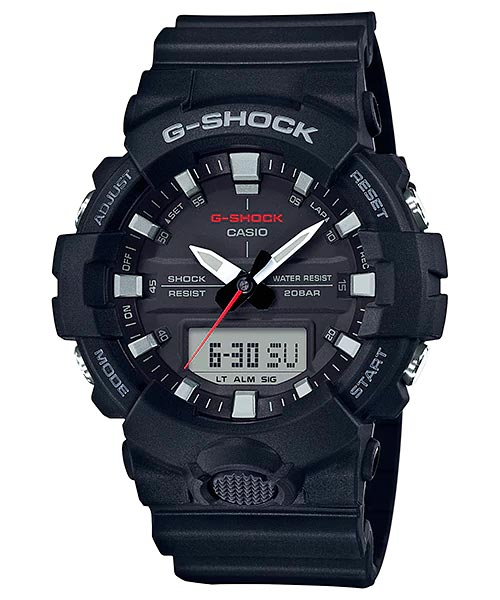 How to set alarm on G-Shock GA-800 / Casio 5535