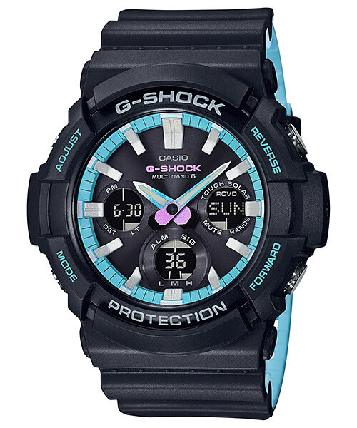 How to set time on G-Shock GAW-100 / Casio 5444
