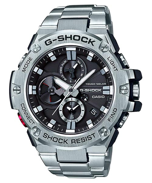 How to set alarm on G-Shock GST-B100 / Casio 5513